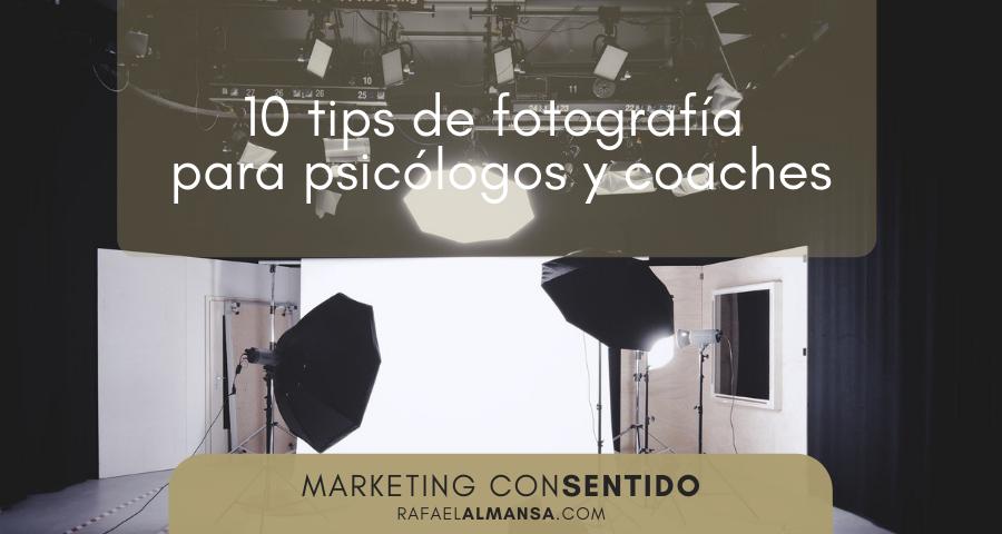 Tips de fotografía para psicólogos y coaches
